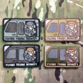 Mil-Spec Monkey Velcro Morale Patch Flying Trunk Monkey